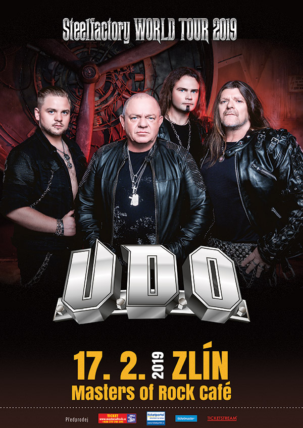 picture U.D.O. (DE) - STEELFACTORY WORLD TOUR 2019