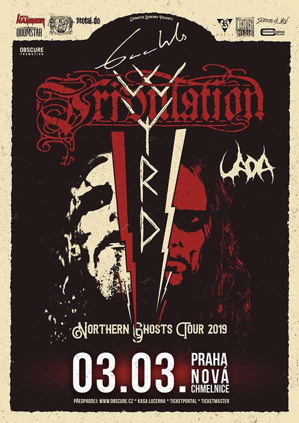 picture GAAHLS WYRD (NO) + TRIBULATION (SE) + UADA (US)