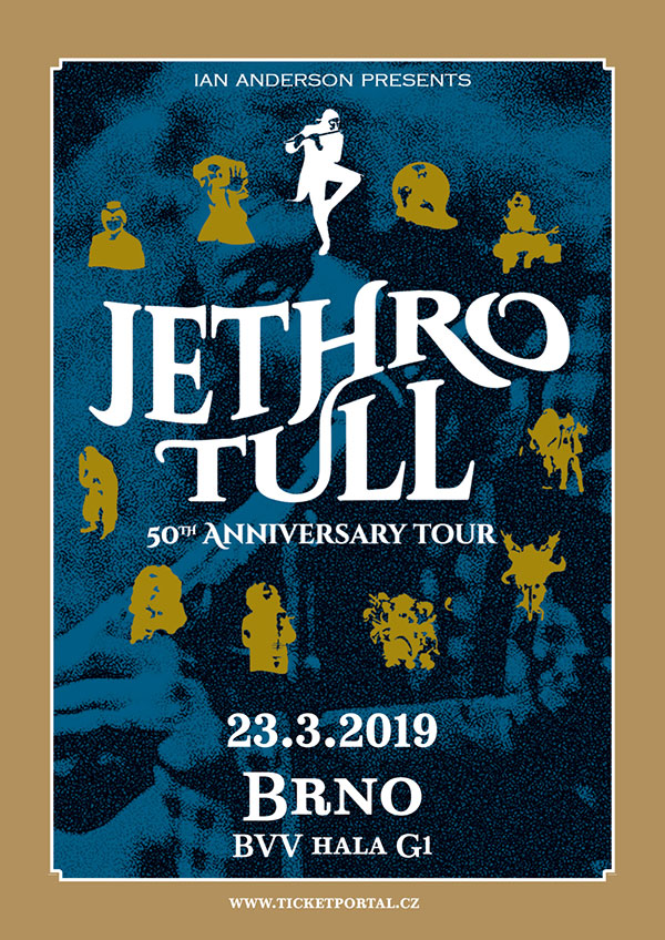 picture JETHRO TULL 50th ANNIVERSARY TOUR