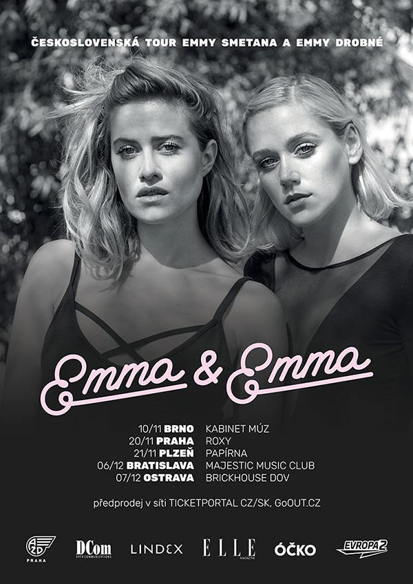 picture EMMA SMETANA & EMMA DROBNÁ - ČESKOSLOVENSKÁ TOUR
