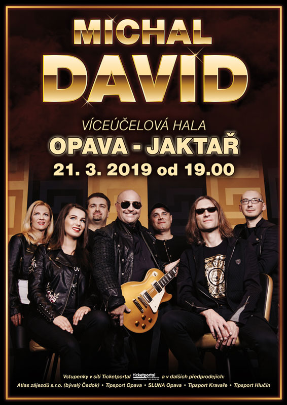 picture MICHAL DAVID - KONCERT - OPAVA