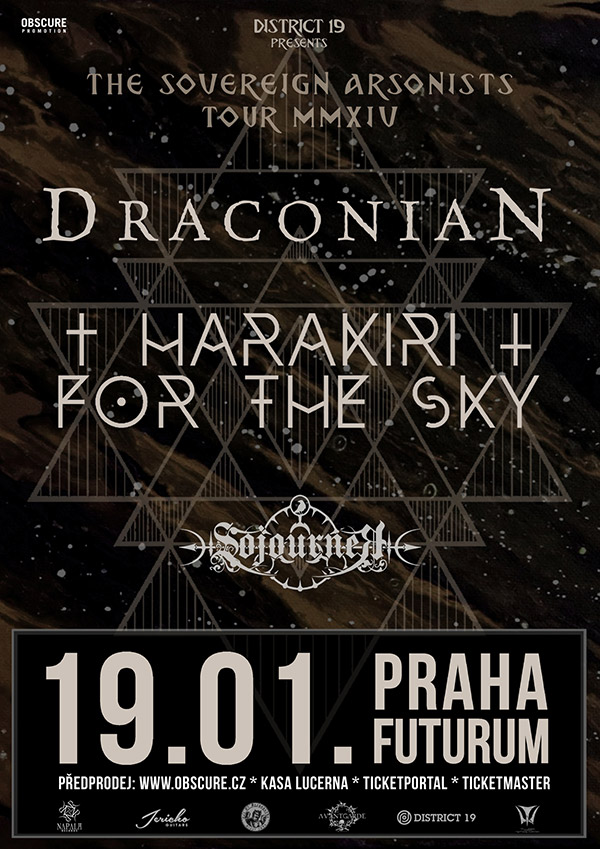 picture DRACONIAN (SE) + HARAKIRI FOR THE SKY (AT)