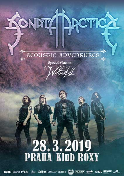 picture SONATA ARCTICA : ACOUSTIC ADVENTURES TOUR 2019