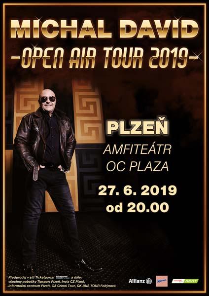 picture MICHAL DAVID OPEN AIR TOUR 2019
