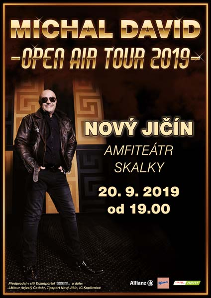 picture MICHAL DAVID OPEN AIR TOUR 2019