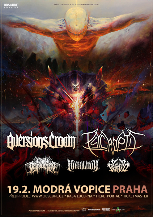 picture AVERSIONS CROWN (AUS) + PSYCROPTIC (USA)...