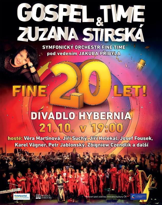 picture Gospel Time a Zuzana Stirská Fine 20 let