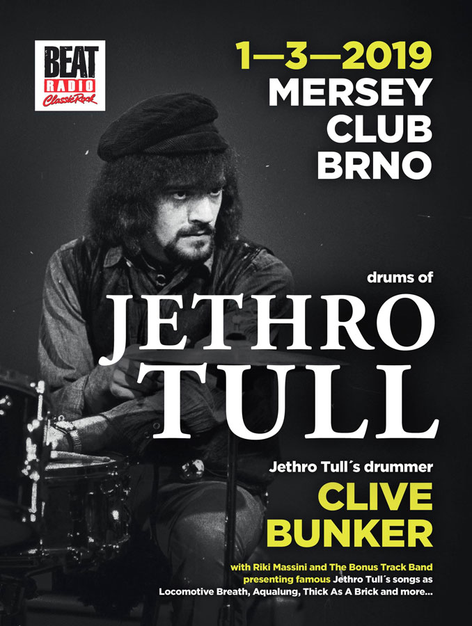 picture Drums of Jethro Tull – Clive Bunker /UK/