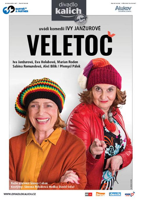 picture Veletoč - autorská groteskní komedie Ivy Janžurové