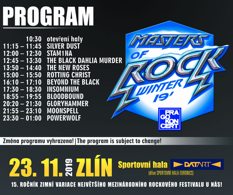 picture Winter Masters of Rock 2019