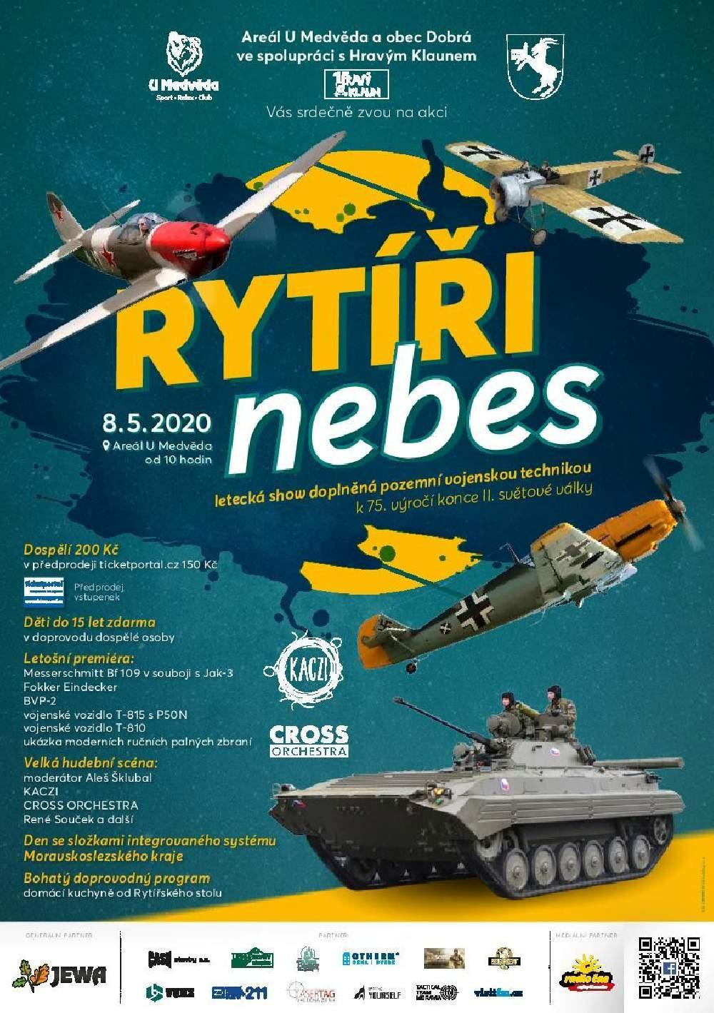 picture RYTÍŘI NEBES letecká show