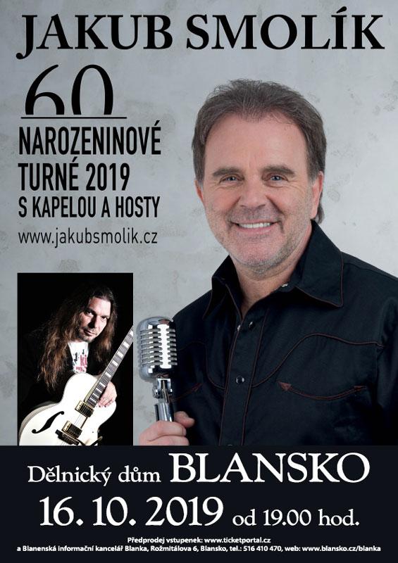 picture JAKUB SMOLÍK 60 narozeninová tour, host Petr Kolář