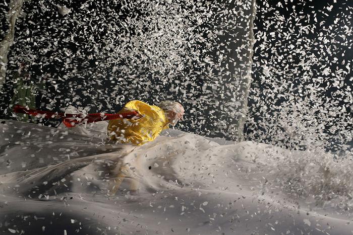 picture Slava Polunin SNOW SHOW