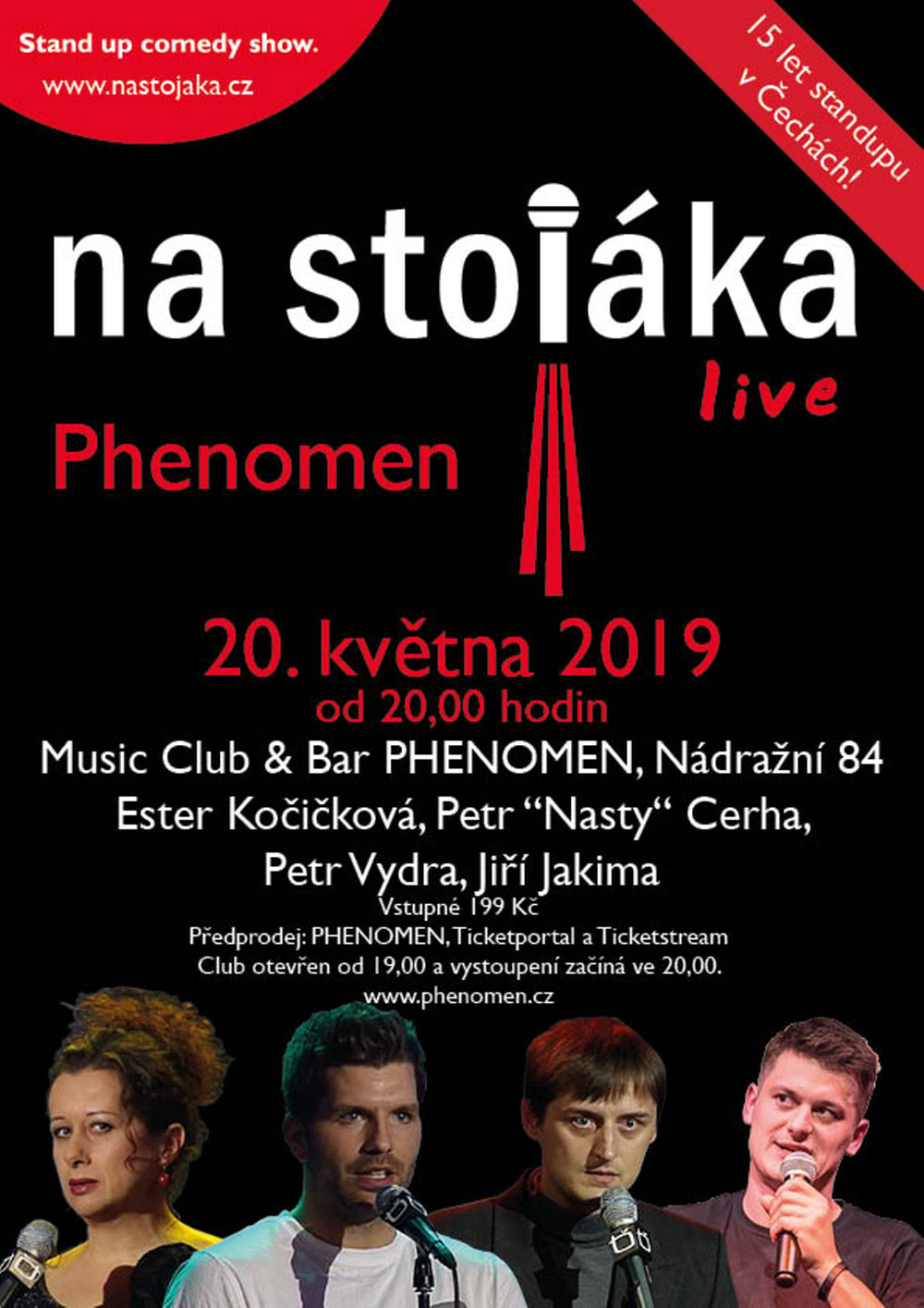 picture Na stojáka - live v Music Club & Bar PHENOMEN