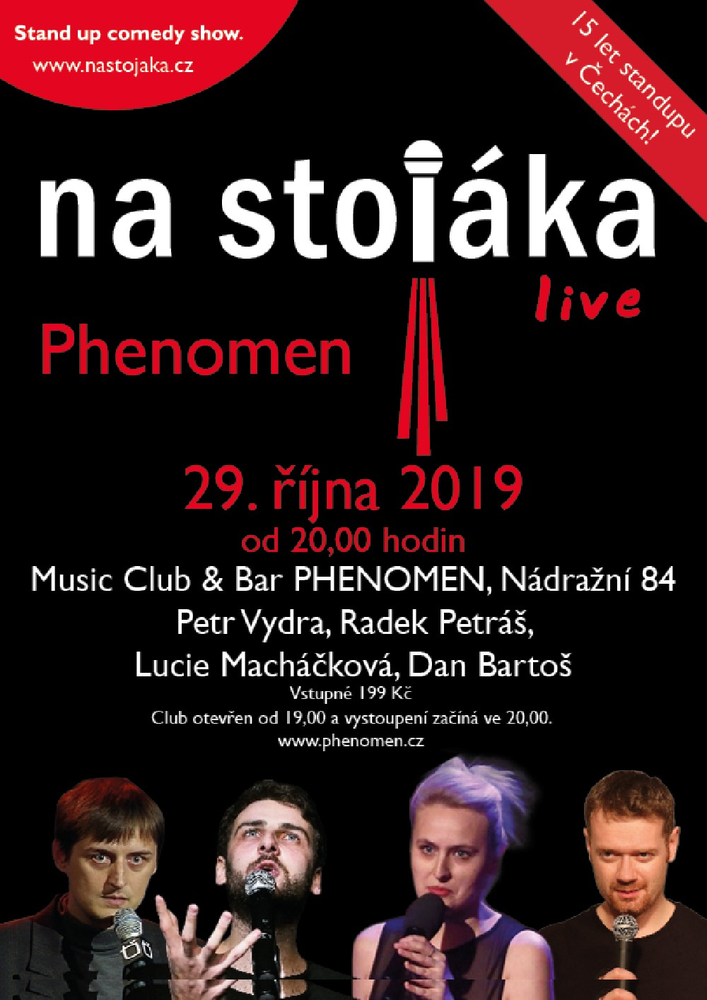 picture Na stojáka - live v Music Club & Bar PHENOMEN