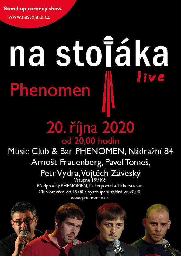 picture Na stojáka - live ve PHENOMEN Music Baru