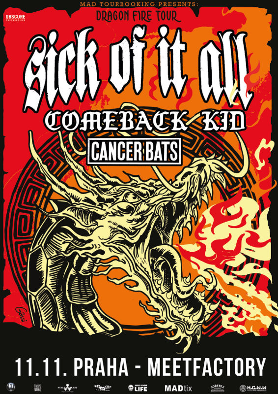 picture SICK OF IT ALL (USA) + COMEBACK KID (CAN) +
