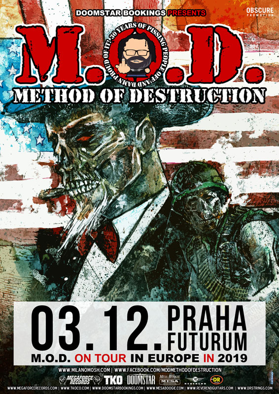 picture M.O.D. - METHOD OF DESTRUCTION (USA) + supports
