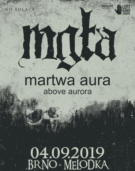 picture MGLA (PL) + Martwa AURA (PL) + ABOVE AURORA (PL)