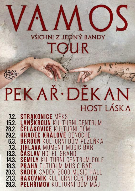 picture Pekař + Jakub Děkan - Vamos tour
