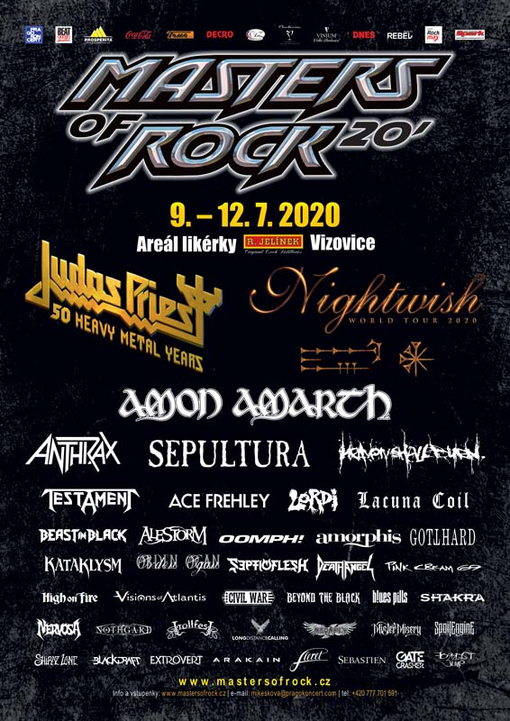 picture Masters of Rock 2020