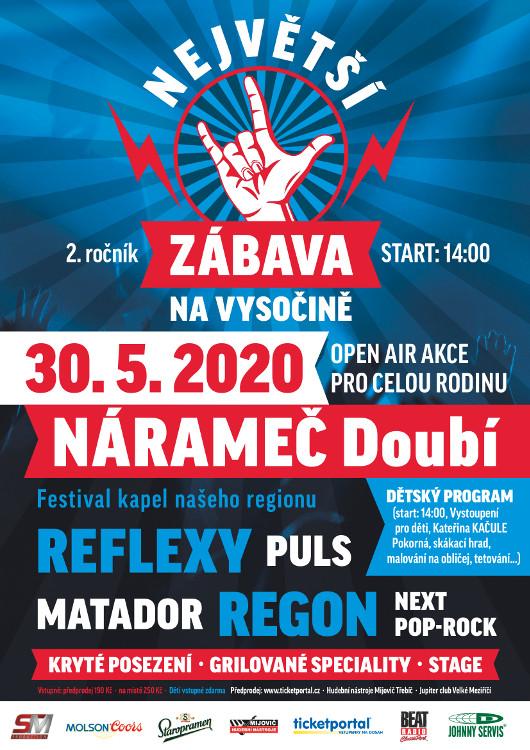 picture NEJVĚTŠÍ ZÁBAVA NA VYSOČINĚ - 2. ročník