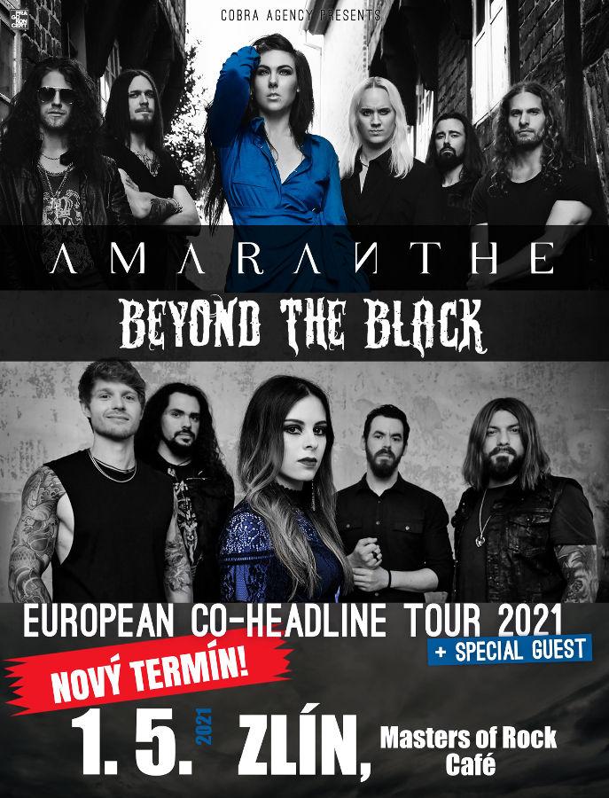 picture AMARANTHE, BEYOND THE BLACK - European Tour 2020