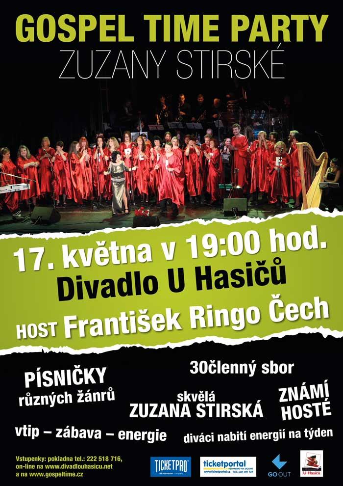 picture Gospel Time Party Zuzany Stirské