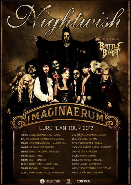 picture NIGHTWISH - IMAGINAERUM World Tour