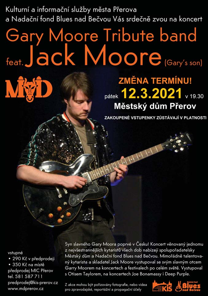 picture GARY MOORE TRIBUTE BAND