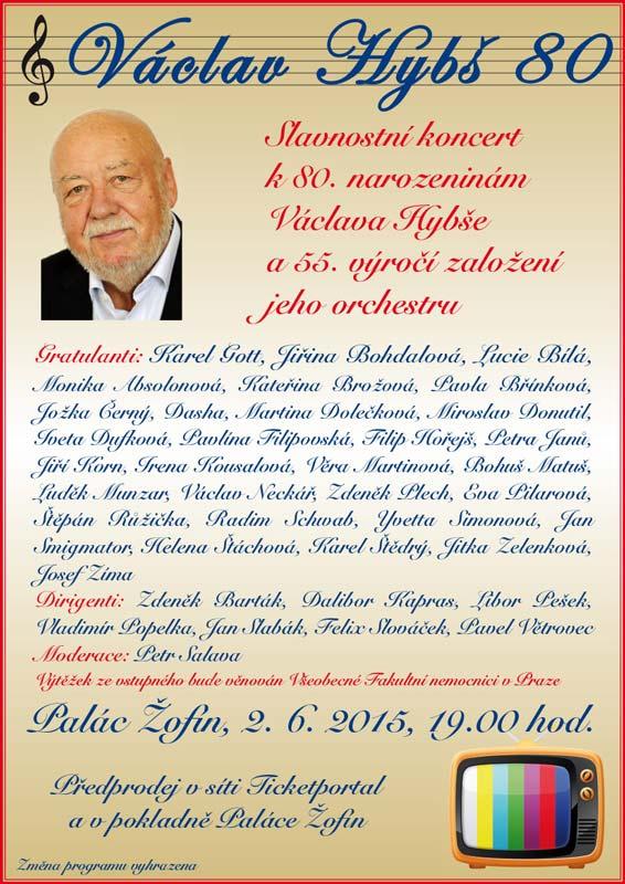picture Václav Hybš 80