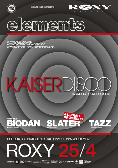 picture ELEMENTS:Kaiserdisco (KD MUSIC/DRUMCODE/GER)