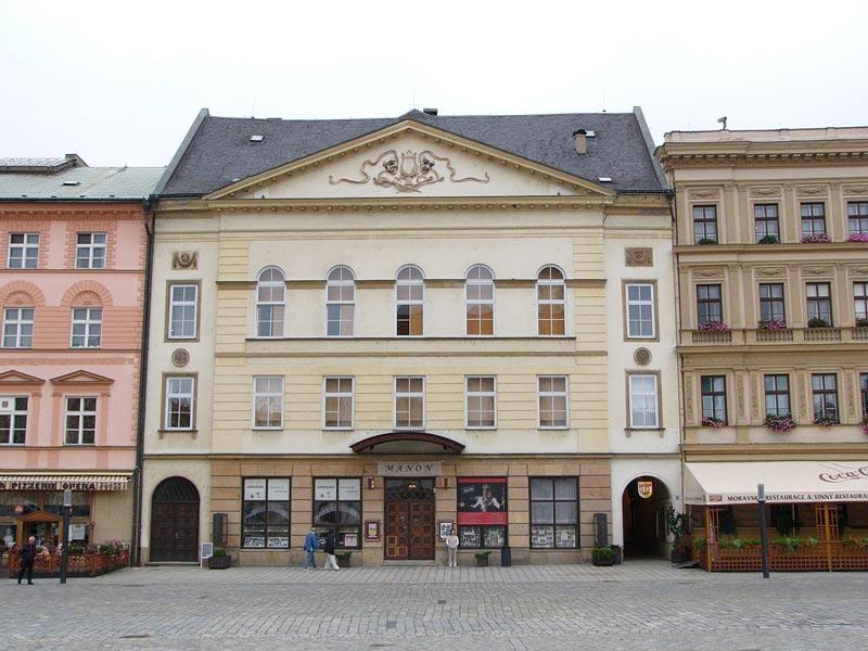 picture MfO, sál Reduta, Horní náměstí 424/23, Olomouc