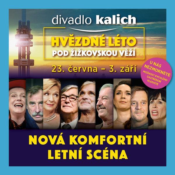 Hvězdné léto, Mahlerovy sady 1, Praha 3