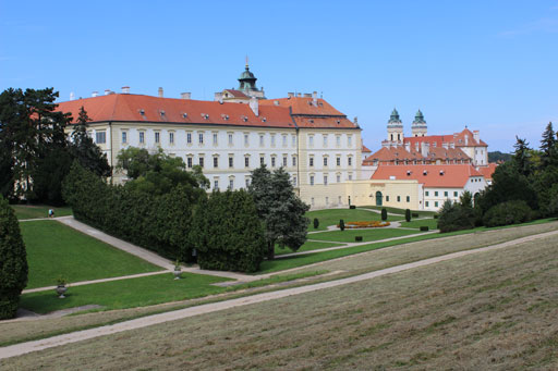picture Státní zámek Valtice - zahrady, Zámek 1