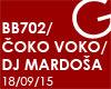GOODBYE CARGO - BB 702/ Čoko Voko/ DJ Mardoša