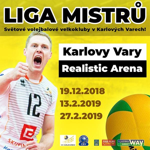 ČEZ Karlovarsko - CEV Volleyball Champions League
