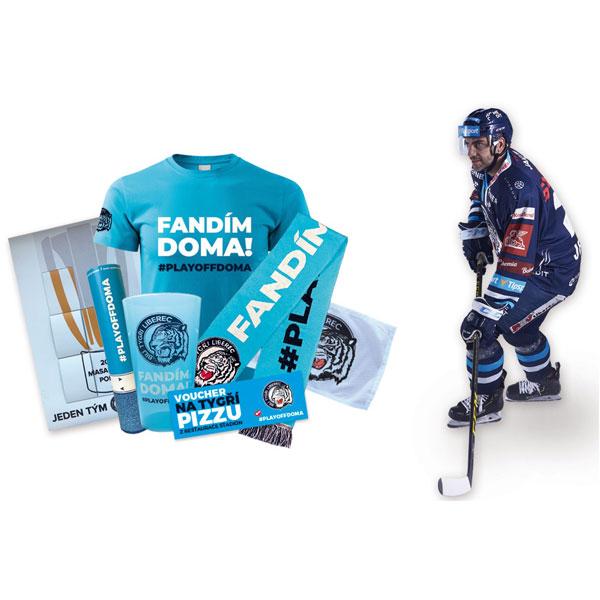 Balíček s hokejkou #PLAYOFFDOMA
