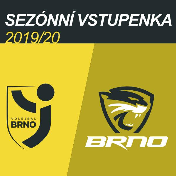 Volejbal Brno - Permanentní vstupenky 2019/2020