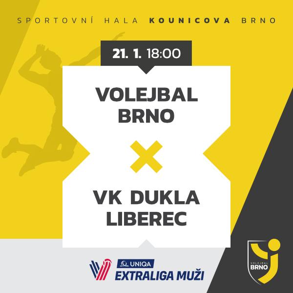 Volejbal Brno - VK Dukla Liberec
