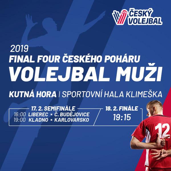 2019 FINAL FOUR Českého poháru ve volejbalu mužů