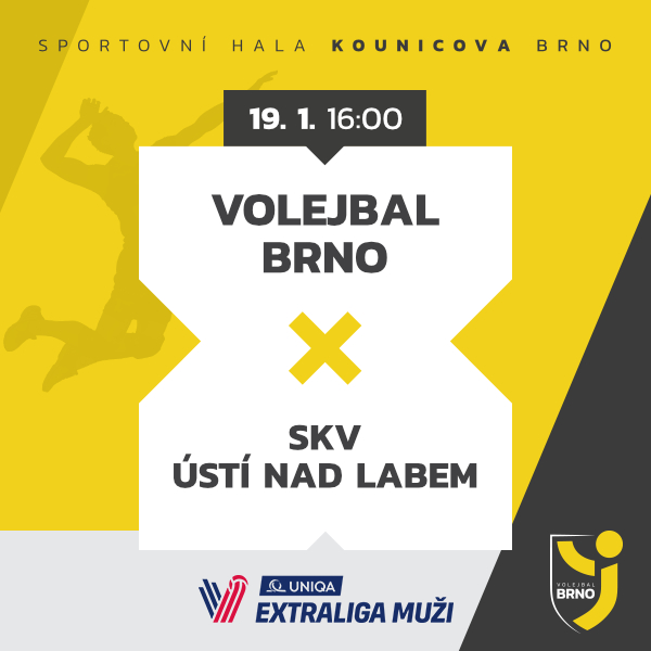 Volejbal Brno - VK Ústí nad Labem
