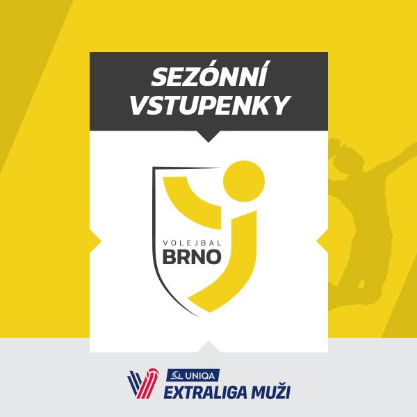 Volejbal Brno - Permanentní vstupenky 2018/2019