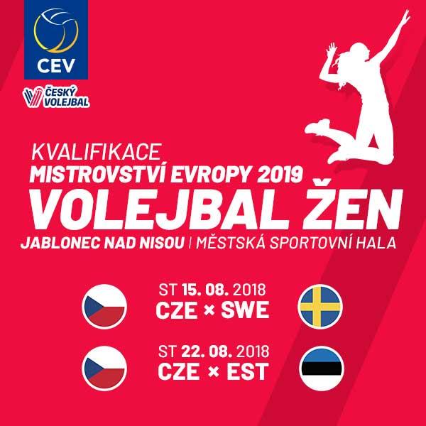 Kvalifikace mistrovství Evropy ve volejbalu žen