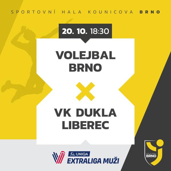 Volejbal Brno – DUKLA Liberec