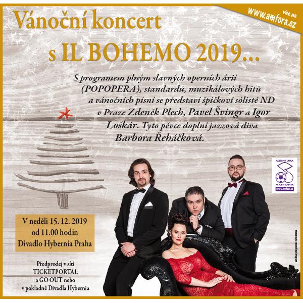 Vánoční koncert s IL BOHEMO 2019…