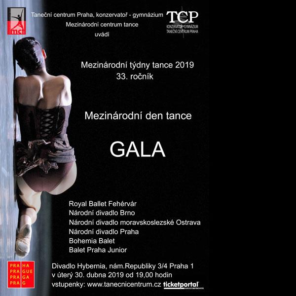 Mezinárodní týdny tance 2019 - GALA