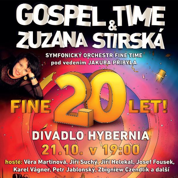 Gospel Time a Zuzana Stirská Fine 20 let