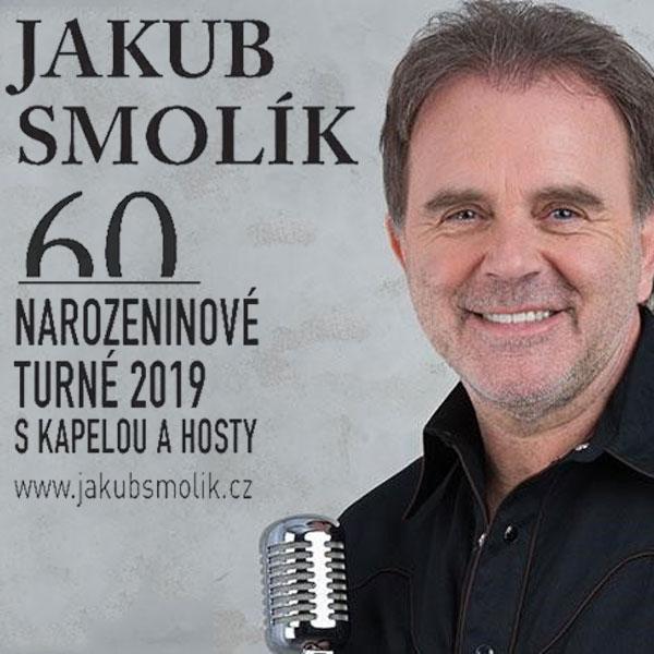 JAKUB SMOLÍK 60´ koncert s kapelou a hosty