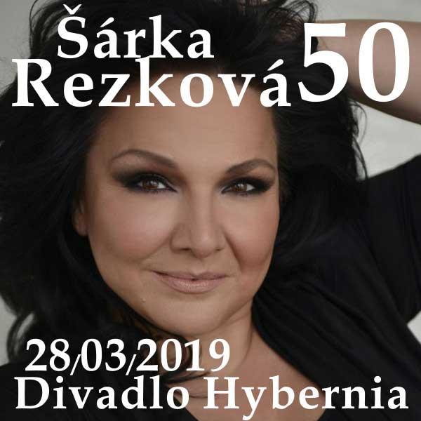 ŠÁRKA REZKOVÁ 50